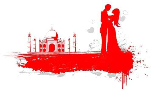 أشهر قصة حب في الهند