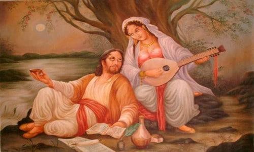 قصة حب قيس وليلى